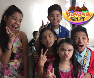BEHIND-THE-SCENES: Kulitan at tawanan with The Voice Kids Season 2 Finalists sa Banana Split