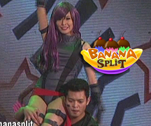 Myrtle Sarossa in anime inspired dance number