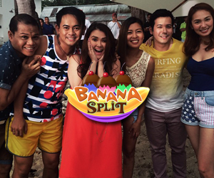 PHOTOS: Ang kwelang Bananakada at the ABS-CBN Summer SID shoot