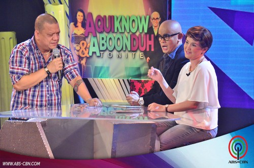 LOOK: Aquiknow & Aboonduh Tonight with The Voice of the Philippines' Grand Winner Mitoy