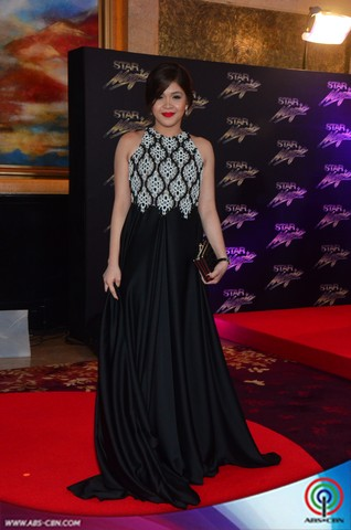 Banana Split stars pose for the camera at the red carpet of the 8th Star Magic Ball